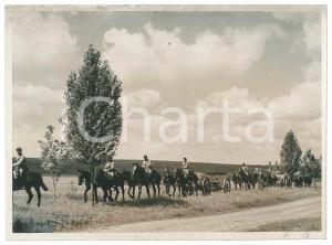 1941 WW2 Corpo di Spedizione Italiana in RUSSIA - Artiglieria ippotrainata *Foto