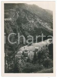 1930 ca LOMBARDIA - VALCAMONICA Area di DEGNA - Strada per BAZENA *Foto 13x18 cm
