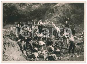 1934 MAREMMA - POGGIO PEROTTO - Scavi per irrigare la zona di SAN DONATO Foto