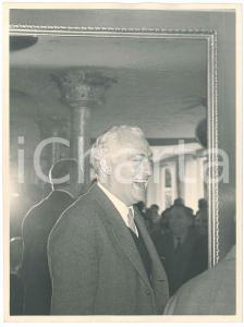1960 ca LA SPEZIA - METALMECCANICA - Dirigente SAFOG a un convegno *Foto