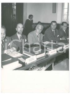 1960 ca LA SPEZIA - METALMECCANICA - Dirigenti a un convegno *Foto