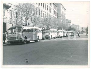 1960 ca LOMBARDIA - Pullman autolinee LOMBARDA - Foto VINTAGE 24x18 cm