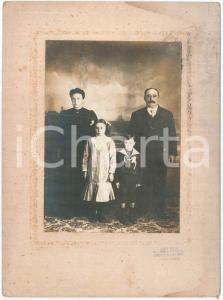 1910 AVELLANEDA (ARGENTINA) Famiglia di emigrati italiani - Foto A. MOLINELLI