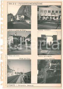 1970 ca LAVENO MOMBELLO (VA) Urbanistica - Vedute - Lotto 6 foto 8x8 cm