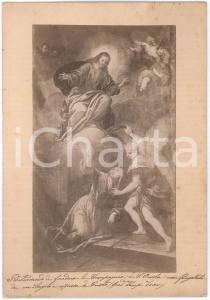 1900 ca BRESCIA - Compagnia di Sant'Orsola - Foto quadro - Santa flagellata