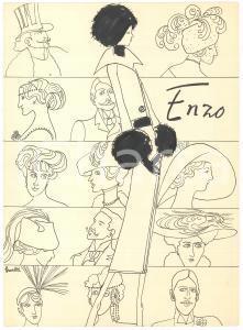 1967-68 BRUNETTA MATELDI MORETTI Stilista ENZO - Moda inverno - Tavola AUTOGRAFA