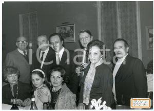 1982 ISOLA DI CAPRERA Leo NUCCI e Adriana ANELLI a una serata - Foto AUTOGRAFO