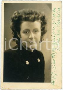 1944 LIRICA Jolanda GARDINO mezzosoprano - Foto con AUTOGRAFO 10x14 cm