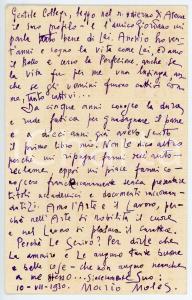 1930 NAPOLI Mario MOLES