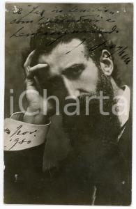 1930 Felice BOGHEN compositore - Ritratto con AUTOGRAFO - Foto 9x14 cm RARA