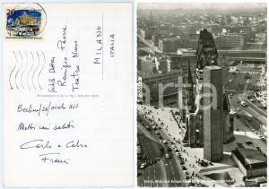 1966 BERLIN Carlo FRANCI direttore d'orchestra - Cartolina AUTOGRAFA
