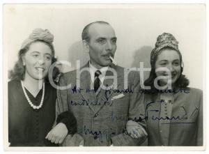 1941 TORINO Mario FERRARI attore - Foto con AUTOGRAFO 18x13 cm