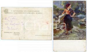 1916 MILANO Pittore Riccardo GALLI