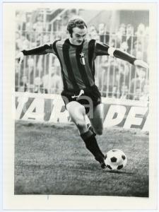 1975 ca CALCIO Alessandro MAZZOLA - Ritratto - Foto seriale con AUTOGRAFO