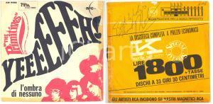 1967 THE PRIMITIVES L'ombra di nessuno / Yeeeeeeh ! - Disco con AUTOGRAFO di MAL