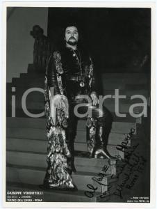 1978 ROMA Teatro dell'Opera - Giuseppe VENDITTELLI