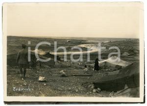 1915 ca TOBRUCH (LIBIA ITALIANA) Accampamento beduino - Foto 18x13 cm