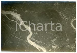 1916 WW1 FRONTE DELL'ISONZO - Veduta (2) Fotografia aerea 17x12 cm