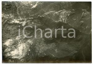 1916 WW1 FRONTE DEL CARSO - Veduta  - Fotografia aerea 17x12 cm