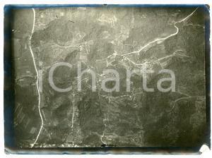 1916 WW1 FRONTE DELL'ISONZO - Veduta - Fotografia aerea 17x12 cm