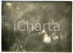 1915 ca WW1 PASSO DELLA VENA - Fotografia aerea 17x12 cm