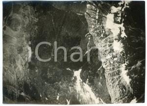1916 WW1 FRONTE DELL'ISONZO Alture - Fotografia aerea 17x12 cm