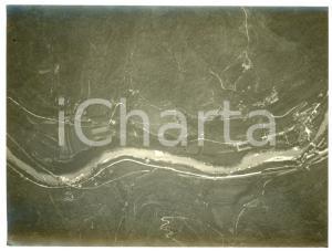 1915 WW1 FRONTE DELL'ISONZO - Veduta (2) Fotografia aerea 16x11 cm