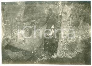1916 WW1 DOSSO FAITI - Veduta - Fotografia aerea 18x13 cm