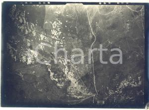 1916 WW1 Area di GORIZIA - Veduta (7) - Fotografia aerea 18x13 cm