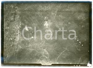 1916 WW1 Area di GORIZIA - Veduta (8) - Fotografia aerea 18x13 cm