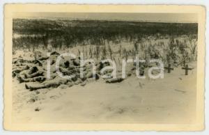 1943 WW2 ARMIR Campagna di RUSSIA - Caduti italiani - Foto 14x9 cm