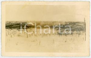 1943 WW2 ARMIR Campagna di RUSSIA - Colonna in marcia - Foto 14x9 cm