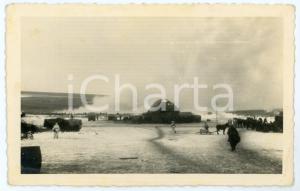 1943 WW2 ARMIR Campagna di RUSSIA - Accampamento (2) Foto 14x9 cm