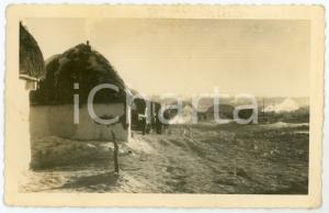 1943 WW2 ARMIR Campagna di RUSSIA - Accampamento - Foto 14x9 cm