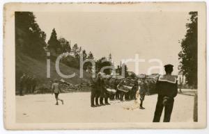 1915 ca WW1 - UDINE Cambio della guardi in piazza Umberto I - Cartolina FP NV