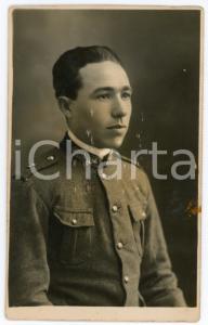1920 ca REGIO ESERCITO Ritratto di un giovane soldato - Fotografia 8x13 cm