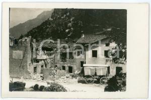 1915 ca WW1 - VELO D'ASTICO Casa bombardata nella frazione di SEGHE - Foto 13x8