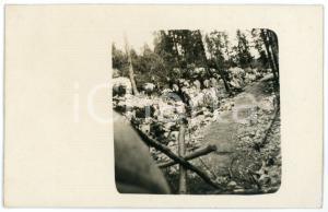 1915 ca WW1 - ARSIERO (VI) Trincerone austriaco - Foto 13x8 cm