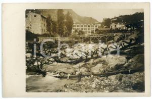 1915 ca WW1 - ARSIERO Ponte distrutto - Foto 13x8 cm