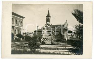 1915 ca THIENE (VI) Piazza delle scuole e Municipio - Foto 13x8