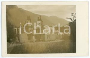 1915 ca WW1 - VELO D'ASTICO Resti di Villa Fogazzaro LA MONTANINA - Foto 13x8