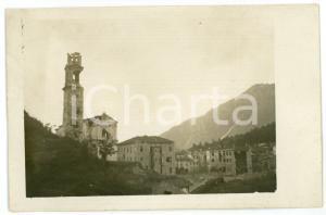 1915 ca WW1 - VELO D'ASTICO Panorama del paese bombardato - Foto 13x8 cm (1)