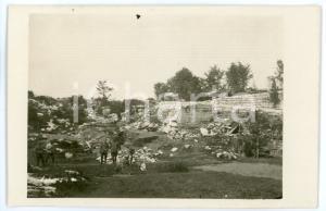 1916 WW1 - ALTOPIANO DI ASIAGO Soldati tra i ricoveri del MONTE CENGIO Foto 13x8