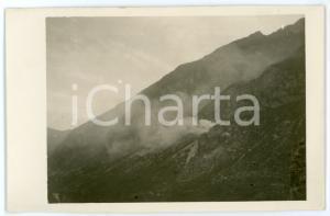 1915 ca WW1 - MONTE CIMONE DI TONEZZA Granata incendiaria - Foto 13x8 cm