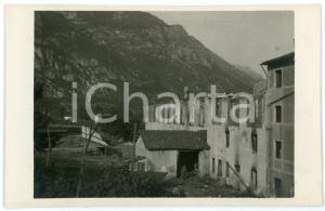 1915 ca WW1 - MONTE CIMONE DI TONEZZA Casa incendiata - Foto 13x8 cm