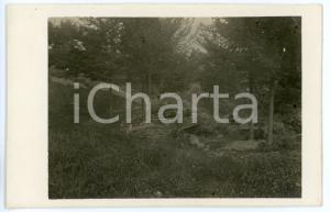 1915 ca WW1 - ALTOPIANO DI ASIAGO Trinceramento austriaco - Foto 13x8 cm