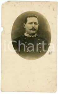 1910 ca CREVACUORE (BI) Ritratto di un Ufficiale - Foto Giovanni MAINO