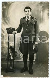1942 PIACENZA Ritratto di un carabiniere - Foto STUDIO F. FORTUNATI