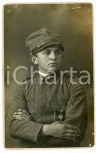 1915 ca WW1 - CESENA Soldato del 27° Reggimento Fanteria - Foto E. TARTAGNI
