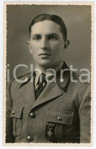 1935 ca TORINO Regia Guardia di Finanza - Ritratto di finanziere - Foto ROSSI